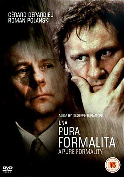 poster Una pura formalita (1994)