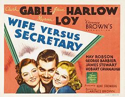 poster Wife vs. Secretary (1936)
