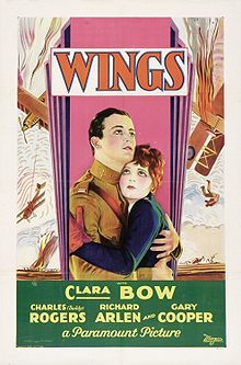 poster Wings (1927)