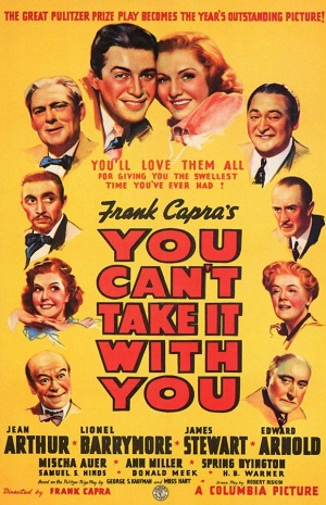 poster You Can't Take It with You (1938)
