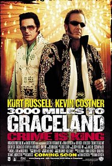poster 3000 Miles to Graceland (2001)