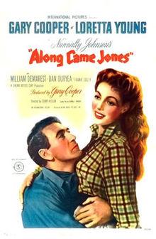 poster Along Came Jones (1945)