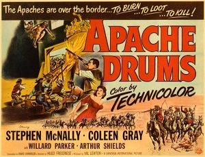 poster Apache Drums (1951)