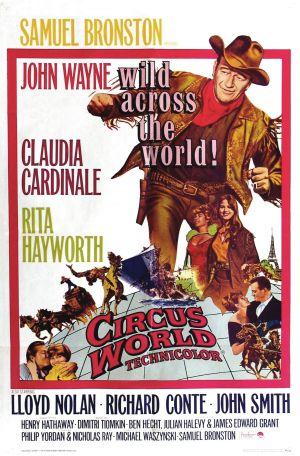 poster Circus World (1964)