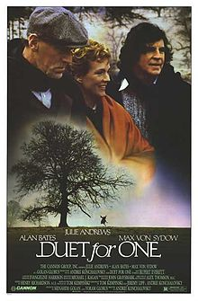 poster Duet for One (1986)