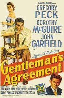 poster Gentleman's Agreement (1947)
