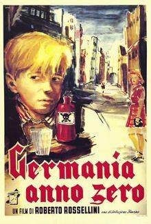 poster Germania anno zero (1948)