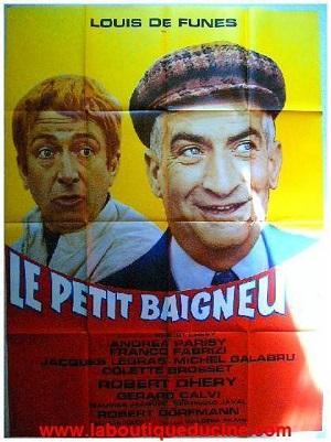 poster Le petit baigneur (1968)