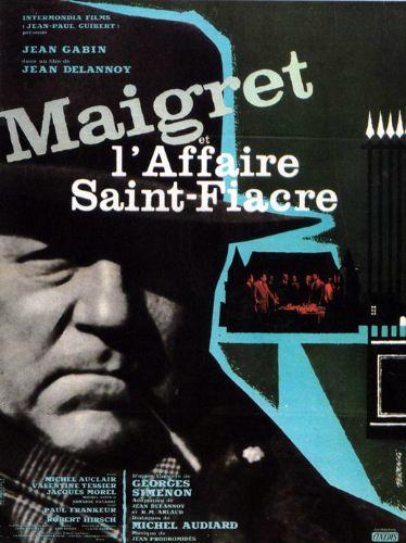 poster Maigret et l'affaire Saint-Fiacre (1959)