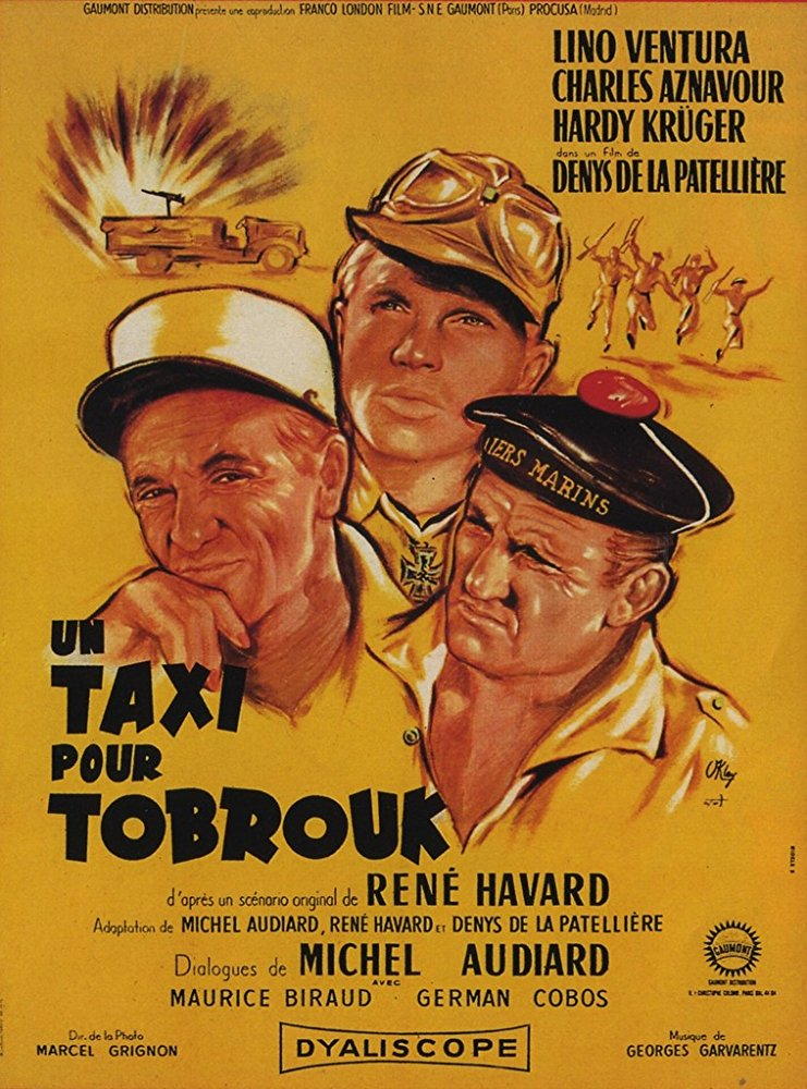 poster Taxi for Tobruk (1961)
