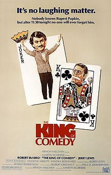 poster The King of Comedy (1982)