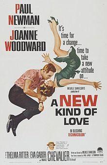 poster A New Kind of Love (1963)