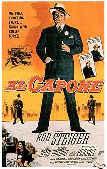 poster Al Capone (1959)