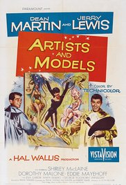 poster Artists and Models (1955)