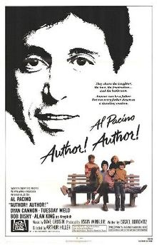poster Author! Author! (1982)