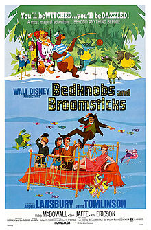 poster Bedknobs and Broomsticks (1971)