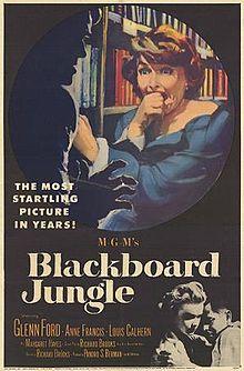 poster Blackboard Jungle (1955)