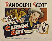 poster Carson City (1952)