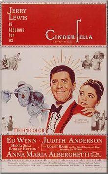 poster Cinderfella (1960)