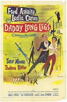 poster Daddy Long Legs (1955)