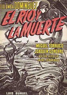 poster El rio y la muerte (1954)