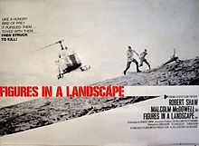 poster Figures in a Landscape (1970)