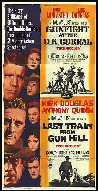 poster Gunfight at the O.K. Corral (1957)