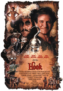 poster Hook (1991)