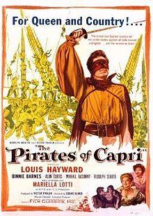 poster I pirati di Capri (1949)