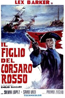 poster Il figlio del corsaro rosso (1959)