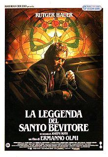 poster La leggenda del santo bevitore (1988)