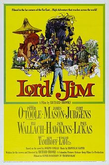 poster Lord Jim (1965)