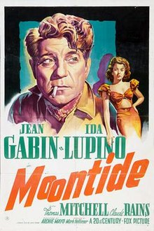 poster Moontide (1942)