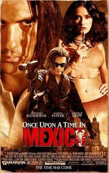 poster Once Upon a Time in Mexico (2003)