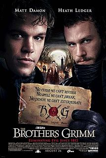 poster The Brothers Grimm (2005)