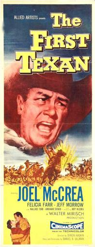 poster The First Texan (1956)