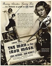 poster The Man in the Iron Mask (1939)