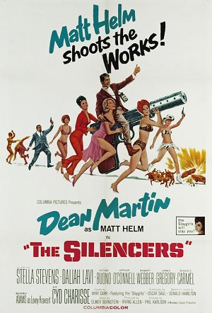 poster The Silencers (1966)