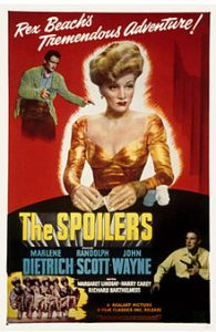 poster The Spoilers (1942)