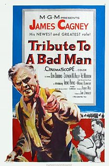 poster Tribute to a Bad Man (1956)