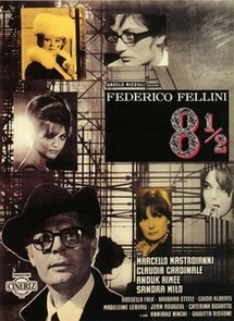 poster 8½ - Otto e mezzo (1963)