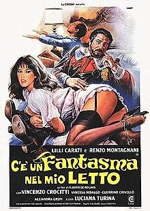 poster C'è un fantasma nel mio letto (1981)