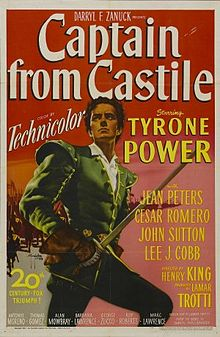 poster Captain from Castile (1947)