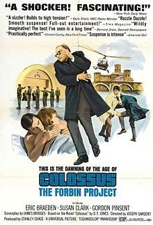 poster Colossus - The Forbin Project (1970)