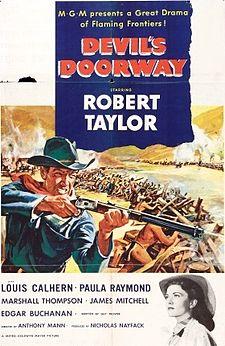 poster Devil's Doorway (1950)