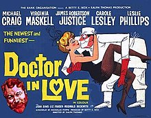 poster Doctor in Love (1960)