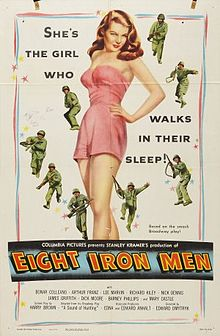 poster Eight Iron Men (1952)