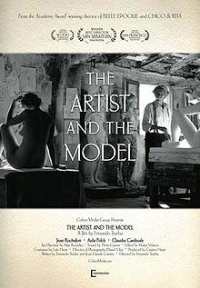 poster El artista y la modelo (2012)