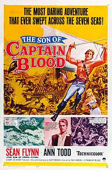 poster El hijo del capitan Blood (1962)