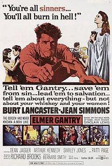 poster Elmer Gantry (1960)